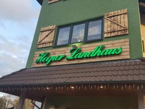 Leuchtbuchstaben - Heeper Landhaus