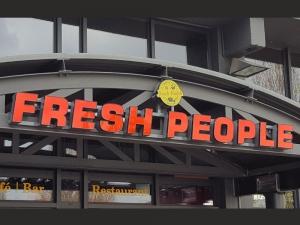 Leuchtbuchstaben - Fresh People