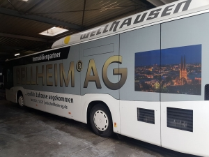 Beschriftungen - Bus