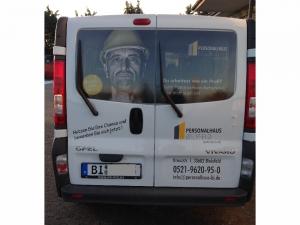 Beschriftungen - Personalhaus Bielefeld Bulli