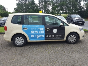 Beschriftungen - Taxi