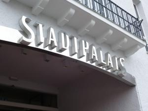 Einzelbuchstaben - Stadtpalais