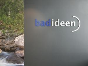 Einzelbuchstaben - bad ideen 2