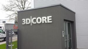 Leuchtbuchstaben - 3D Core