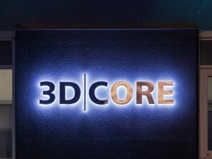 Leuchtbuchstaben - 3D Core Haus