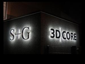 Leuchtbuchstaben - 3D Core S+G