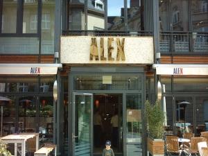 Leuchtbuchstaben - Alex 2
