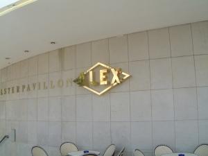 Leuchtbuchstaben - Alex