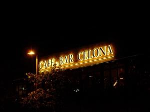 Leuchtbuchstaben - Bar Celona