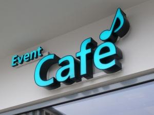 Leuchtbuchstaben - Cafe