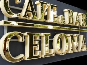 Leuchtbuchstaben-Celona