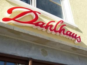 Leuchtbuchstaben - Dahlhaus