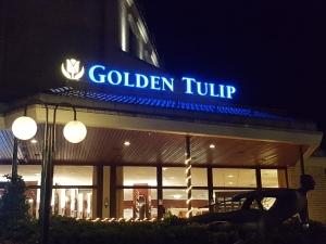 Leuchtbuchstaben - Golden Tulip