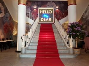 Leuchtbuchstaben - Hello my Dear 2