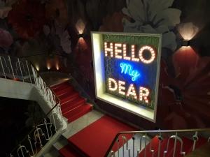 Leuchtbuchstaben - Hello my Dear