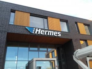 Leuchtbuchstaben - Hermes