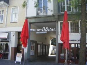 Leuchtbuchstaben - Hotel zur Börse