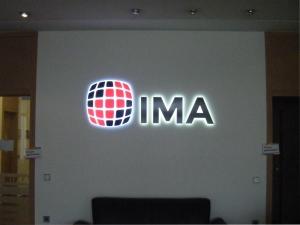 Leuchtbuchstaben - IMA