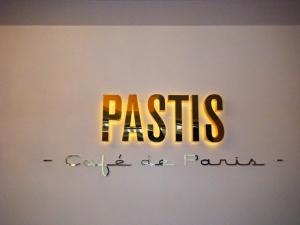 Leuchtbuchstaben - Pastis