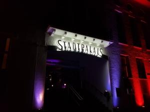 Leuchtbuchstaben-Stadtpalais
