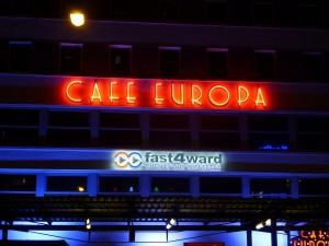 Neon - Cafe Europa