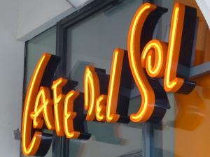 Neon - Cafe del Sol