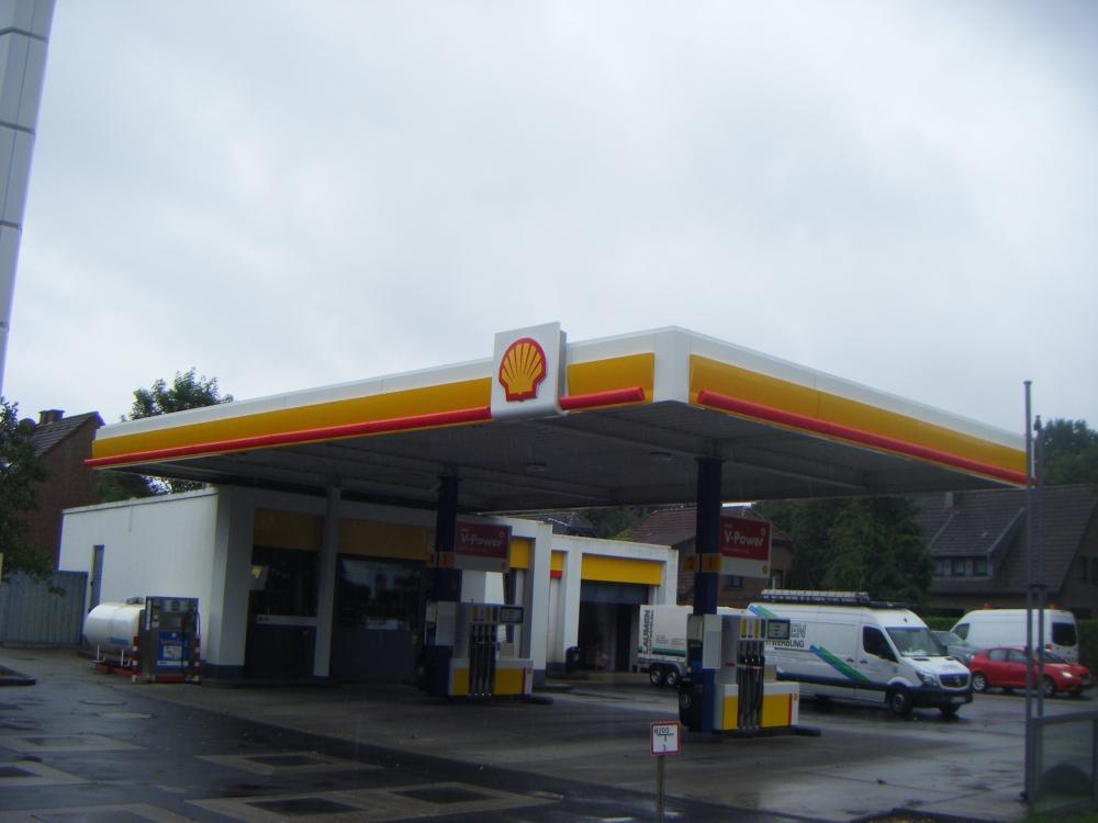 Tankstellen - Shell